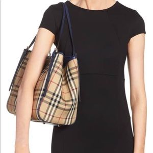 Authentic Burberry Horseferry  Canterbury  Tote
